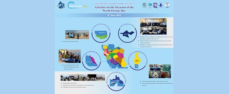 inioas activities on the occasion of the world oceans day